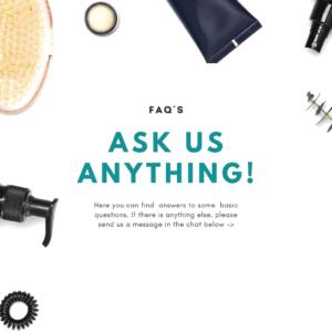 FAQ - Ask us anything